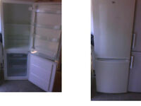 Please ring or text first please Zanussi fridge freezer 69 inches high x 23 inches wide SEE BELOW