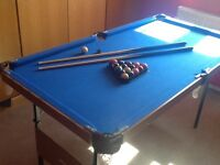 Junior Pool table excellent condition