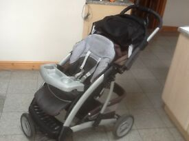 Pushchair from Mothercare used and in great condition,vacuumed and cleaned in full working order
