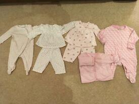 Jo Jo Maman Bebe and White Company Baby Clothes