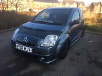2007 Citroen C2 1.6 3 door lowered,xenons, leather, modified