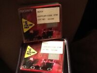 Discs for mini disc player