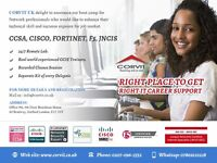 Cisco CCNA, CCNP, ASA, Palo Alto, Check Point, Fortinet, Juniper SRX, ASA Firepower, F5 LTM /GTM