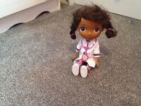 Doc mcstuffing talking doll