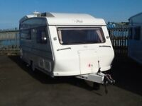 2000 carlight commander 2 berth end changing room with fitted mover