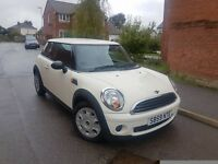 2010 MINI FIRST 1.4 PEPPER WHITE 6 SPEED MANUAL LOW MILEAGE 1 OWNER F.S.H HPI CLEAR GOOD RUNNER