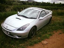 toyota celica for sale or exchange