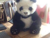 Toy interactive panda