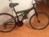 Universal bike practically new £45 can deliver for petrol