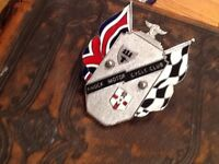 Vintage Knock motor cycle badge