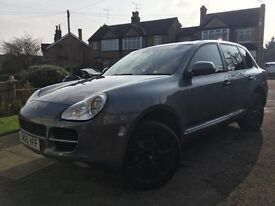 2005 porsche cayenne 3.2 6 speed manual 118.000 fully serviced miles nav leather park assist upgrade