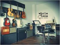 Whole Tone Guitar Studio in Riverside - 647-542-6454