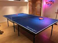 Indoor Table Tennis Table 9ft