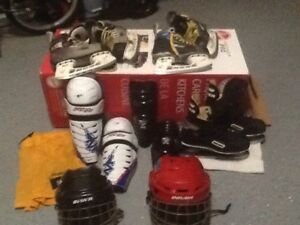 Used Hockey Equipment.From $5.