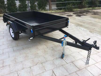 7x5 Trailer 350mm sides with brakes 1400kg (Australian Made) Adelaide Region Preview