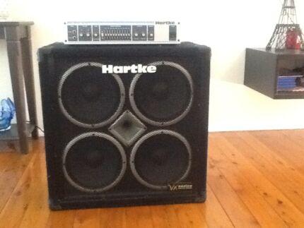 Hartke bass rig