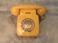Old BT Rotary Dial telephone