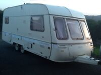 Swift chalenger 5 berth touring caravan