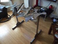 Sturdy Metal DJ Stand looking for a new home, perfect for home use or parties