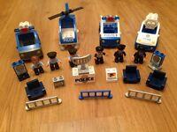 Duplo Police Lego vehicles