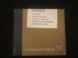 Grundfoss 15/50-60 ups pump