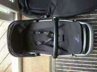 Quinny pushchair/buggy system with maxi cosi car seat