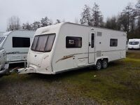 Bailey Senator Wyoming 4 berth caravan 2007 Twin Axle FIXED BED, MOTOR MOVER !!