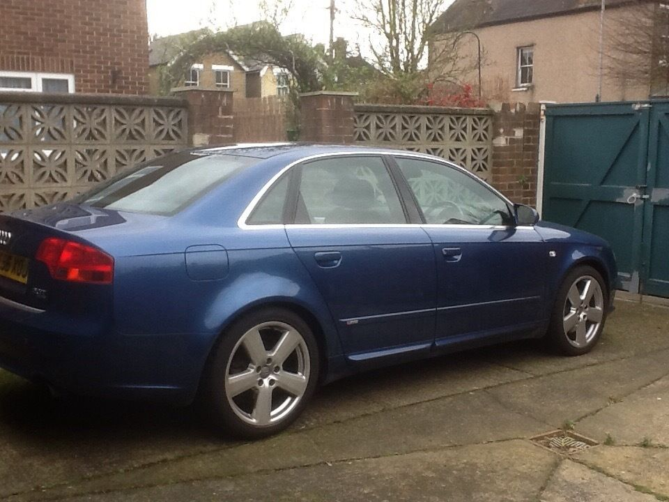 AUDI A4 QUATTRO Special Edition In Mauritius Blue One Mature Owner Genuinely Low Mileage