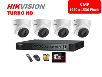 Special! Hikvision super nightvision CCTV install package $1399!