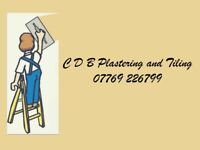 C D B Plastering and tiling