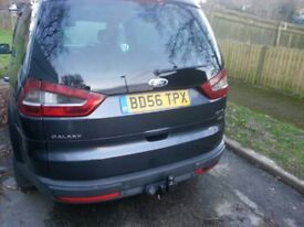 FORD GALAXY ZETEC 2.0 TDCI 140 BHP MANUAL 2OO7 MODEL FULL PANORAMIC ROOF CULL FORD SERVICE HISTORY