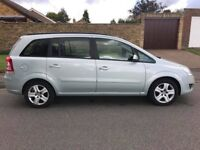 Vauxhall zafria 1.6 exclusive 7 seater 73000 miles
