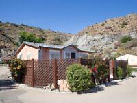 2 bedroom roughcast bungalow in mojacar spain
