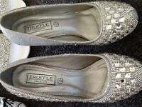 Blingy shoes size 4 and 5