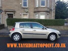REDUCED*** FREE DELIVERY TO ABERDEEN, RENAULT MEGANE 1,4, FULL 12 MONTHS MOT £1395