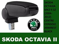 ORGINAL BRAND NEW CAR ARMREST SKODA OCTAVIA MK2 II 1Z 2004-2012 CENTRE CONSOLE BLACK UK STOCK CHEAP!