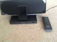 Sony docking station 8gb I pod excellent condition