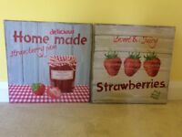 Strawberry Jam Canvases
