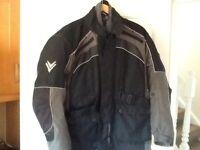 Frank Thomas double lined and padded bikers jacket size medium hardly worn