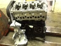 AUDI A4 BRE 2.0 TDI 140 BHP 4 CYLINDER RECON ENGINE WITH UP RATED OIL PUMP