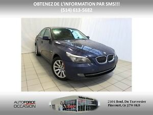2009 BMW 5 Series 535I XDRIVE TWIN TURBO NAV CUIR TOIT EXECUTIVE
