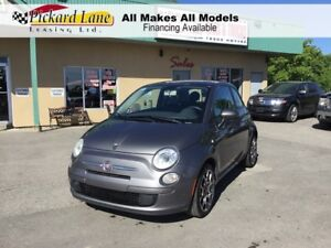 2012 Fiat 500 Pop MANUAL!! SUNROOF!! CERTIFIED!!