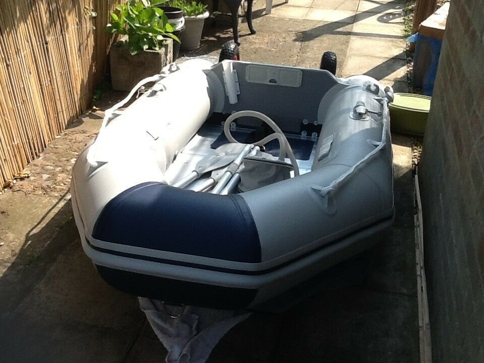 Inflatable Dinghy  Ancheer 2 3m bought this last month new used once  | in  Leiston, Suffolk | Gumtree