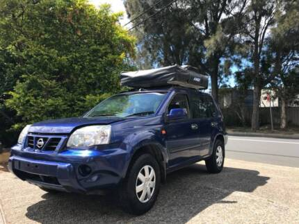 2005 Nissan X-Trail 4x4 with Roof Tent for Sale - LOW KILOMETERS! Botany Botany Bay Area Preview