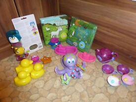 Kids bath water fun toys