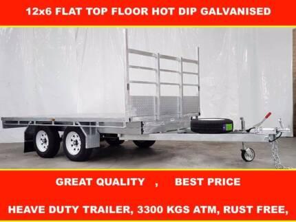 12X6 TOP FLOOR HOT DIP GALVANISED