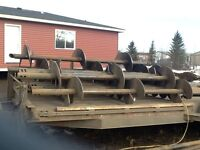 SCREW-PILES,EXCAVATING AND MORE SLAVE LAKE AND AREA