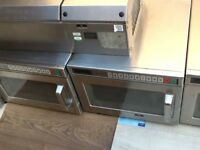 Panasonic NE-1856 commercial microwave ovens,shop shut down