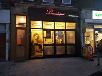 Running Beauty Salon to Let in High Road Leytonstone