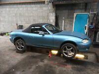 Mazda Mx5 1.6 Mk1 MK2 MK2.5 parts for sale breaking eunos